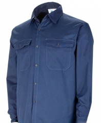 Camisa Ignifuga Nomex Confort 4,50 Onz. Azul.