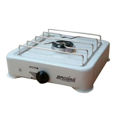 Anafe 1h Losa Blanco C/termocupla Para Gn Brogas 8101ba
