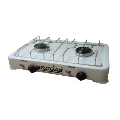 Anafe 2h Losa Blanco C/termocupla Para Ge Brogas 8202b