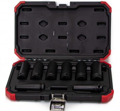 Juego Tubo Impacto 1/2 12-23 8pc Gedore Red 3300709