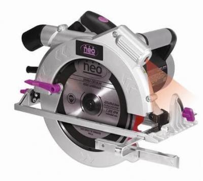 Sierra Circular Neo 9 Pul 1800w Sc-809 Con Guia Laser