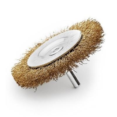 Cepillo Circular  3 Rizado Con Perno P/taladro