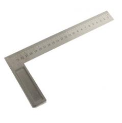 Escuadra Acero C/base Alumi Milimetrica 300mm Tolsen