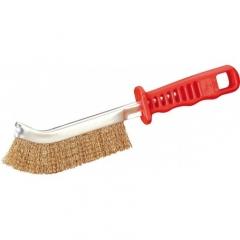 Cepillo De Mano Mang. Plastico Acero Rizado