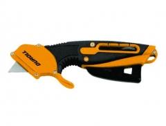 Cutter De Seguridad Con Gatillo Automatico Y Blister X 10 Hojitas