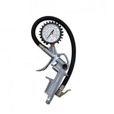Pistola De Inflar Con Manómetro R-1/4