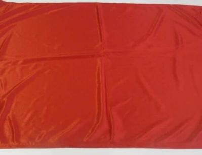 Bandera Roja De Peligro 50x70