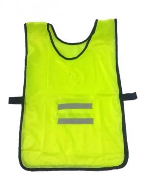 Chaleco Tipo Poncho Poliester Verde Con Reflectivo