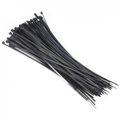 Precinto Negro 9,5 X 550mm Crecchio 9046 X50u.
