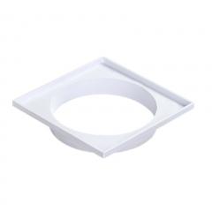 Marco Porta Rejilla Plastica - Para Pileta De Patio 18x18cm