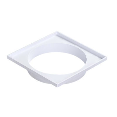 Marco Porta Rejilla Plastica - Para Pileta De Patio 15x15cm