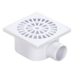 Receptaculo Para Ducha - Rejilla Plastica 10x10cm De 40mm