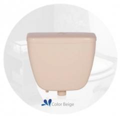 Mochila Plastica Conexión Fuelle Luxury Inyectado 14 Lts - Simil Loza Beige