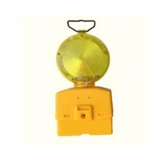 Faro Amarillo Para Cono Intermitente O Fijo Para 2 Baterias