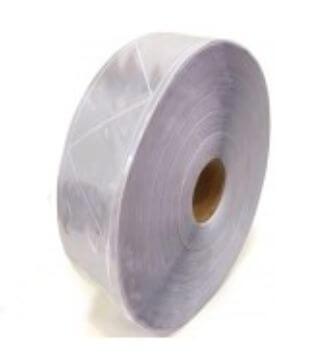 Cinta Reflectiva Plastica Para Coser Triangulos Blanca 5cmxmt Cd-6415b