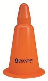 Cono Deportivo De Pvc Flexible, 25cm Con Filtro Uv. Conoflex 1025/0r