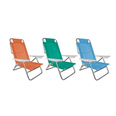 Sillas Summer Mor Color: Azul, Anis Y Coral