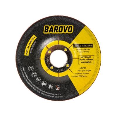 Disco De Desbaste 4 1/2 Espesor 4,8 Mm Barovo