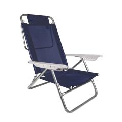 Reposera Summer Mor Color Azul Marino