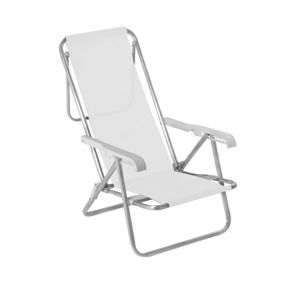Silla Reclinable 8 Posiciones Mor Color Blanco