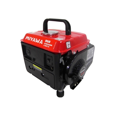 Generador Eléctrico 650w 2hp Miyawa 950 220v Ca Y 12v Cc