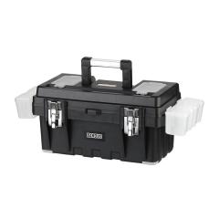 Caja De Herramienta De 17 Plástica Con Cierre Metálico Barovo