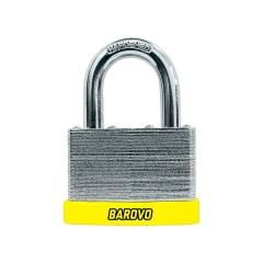 Candado Laminado Barovo 50mm Cuz50l Cilind Bronce