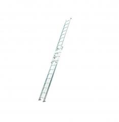Escalera Kushiro Aluminio Extensible 2 × 14 Con Soga