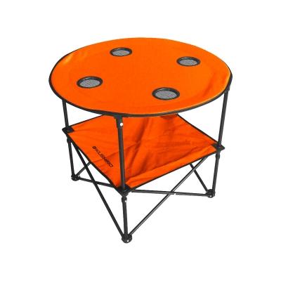 Mesa Camping Plegable Con Portavaso
