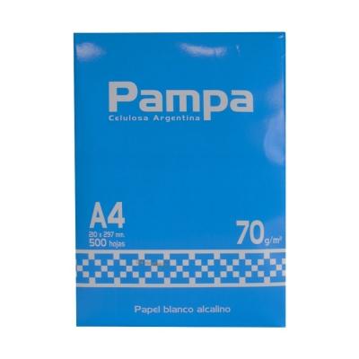 Resma De Papel A4 70 G Pampa Res70