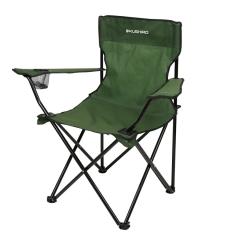 Silla Camping Plegable Director Verde Militar