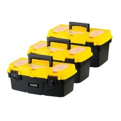 Set De Cajas De Herramientas Plásticas 12, 15 Y 18 Barovo