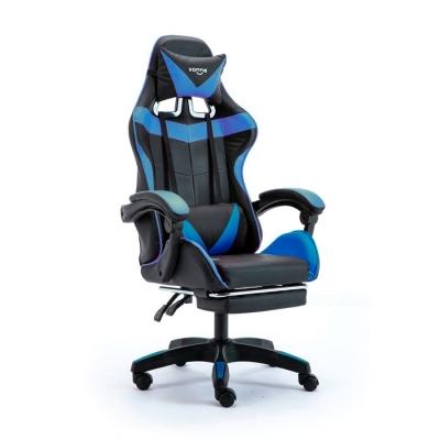 Silla Gamer Pc Color Negro/azul Vonne Sv-g01