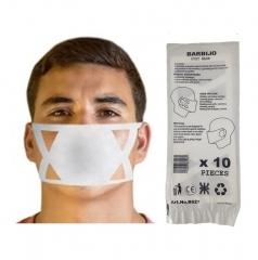 Barbijos Descartables Dust Mask X 10 Unid