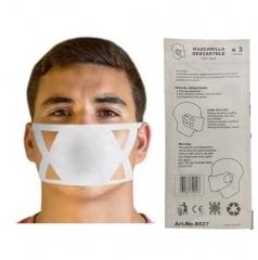 Barbijos Descartables Dust Mask X 3 Unid