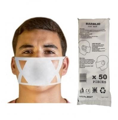 Barbijos Descartables Dust Mask X 50 Unid