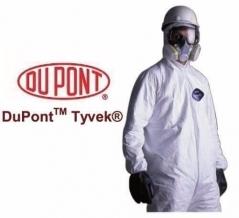 Mameluco Dupont Tyvek Classic Blanco Con Capucha