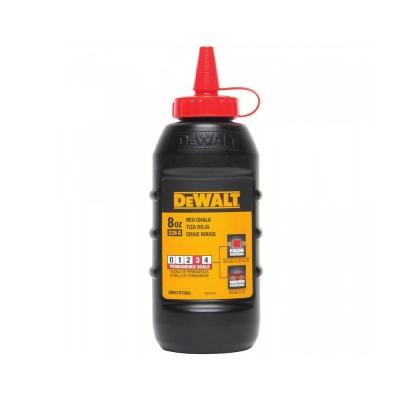 Tiza Roja Botella 225g Dewalt Dwht47048l