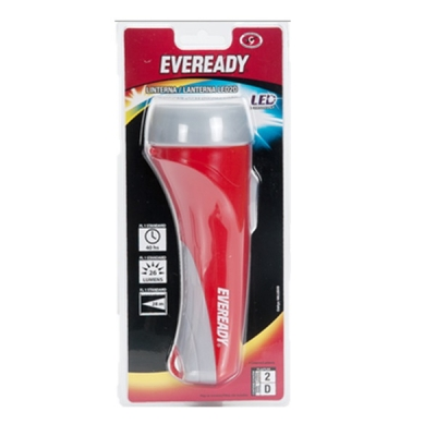 Linterna Eveready Led 2d Sin Pilas Blister