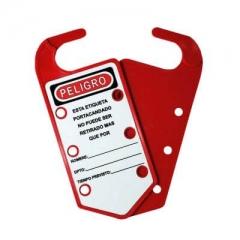 Tarjeta Portacandado Plastica 6 Pos. Dielectrica. 1001160