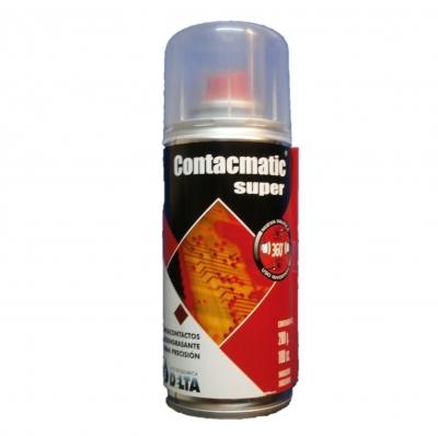 Contacmatic Super, Limpiacontactos De Alta Pureza  440cc / 570g