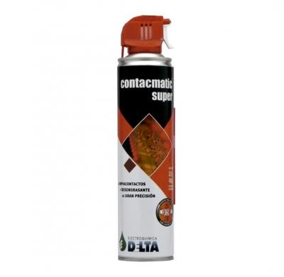 Contacmatic Super, Limpiacontactos De Alta Pureza  440cc / 570g  C/gatillo