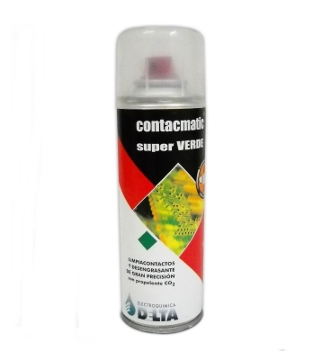 Contacmatic Super Verde, Con Propelente Co2  440cc / 450g
