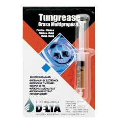 Tungrease Grasa Multipropósito, Para Plásticos Y Metales Jeringa De 5 Cc