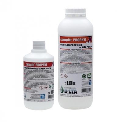 Compitt Prophyl, Alcohol Isopropílico De Alta Pureza  Botella De 500cc