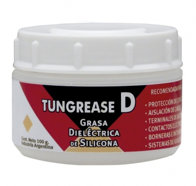 Tungrease D, Grasa Dieléctrica De Silicona Pote De 100 G