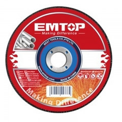 Disco De Corte 180x1,6 Metal/inox Emtop Eacd301802