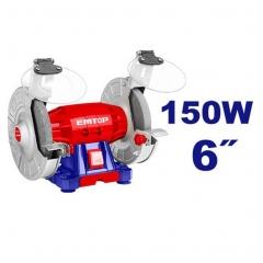 Amoladora De Banco 150w 150mm 2950rpm Emtop Ebgr615014