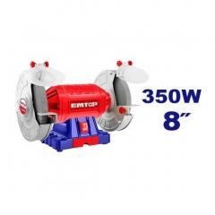 Amoladora De Banco 350w 200mm 2950rpm Emtop Ebgr835014