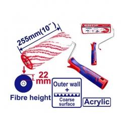 Rodillo Industrial 255mm Fibra 22mm Emtop Ecbh092551